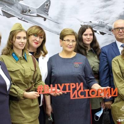 """Открытие областного проекта """"Внутри истории"""""""